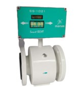 Battery Operated Electromagnetic Flow Meter SS1021
